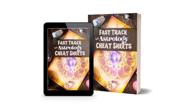 fast track to astrology cheat sheets (