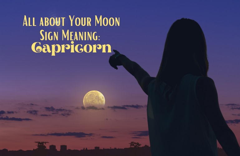 moon in capricorn meaning