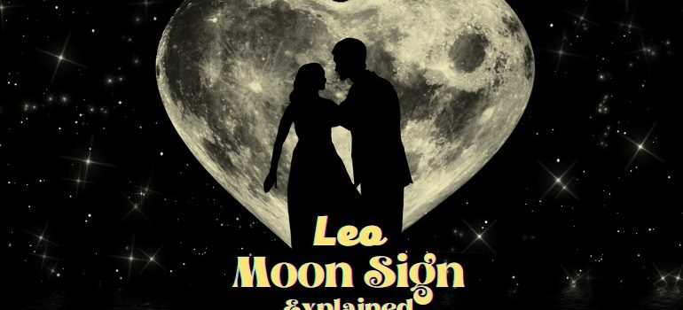 moon in leo meaning
