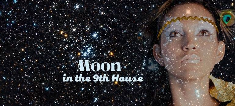 moon in the 9th house meaning