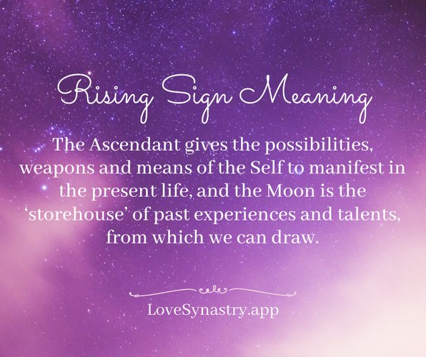 rising sign meaning